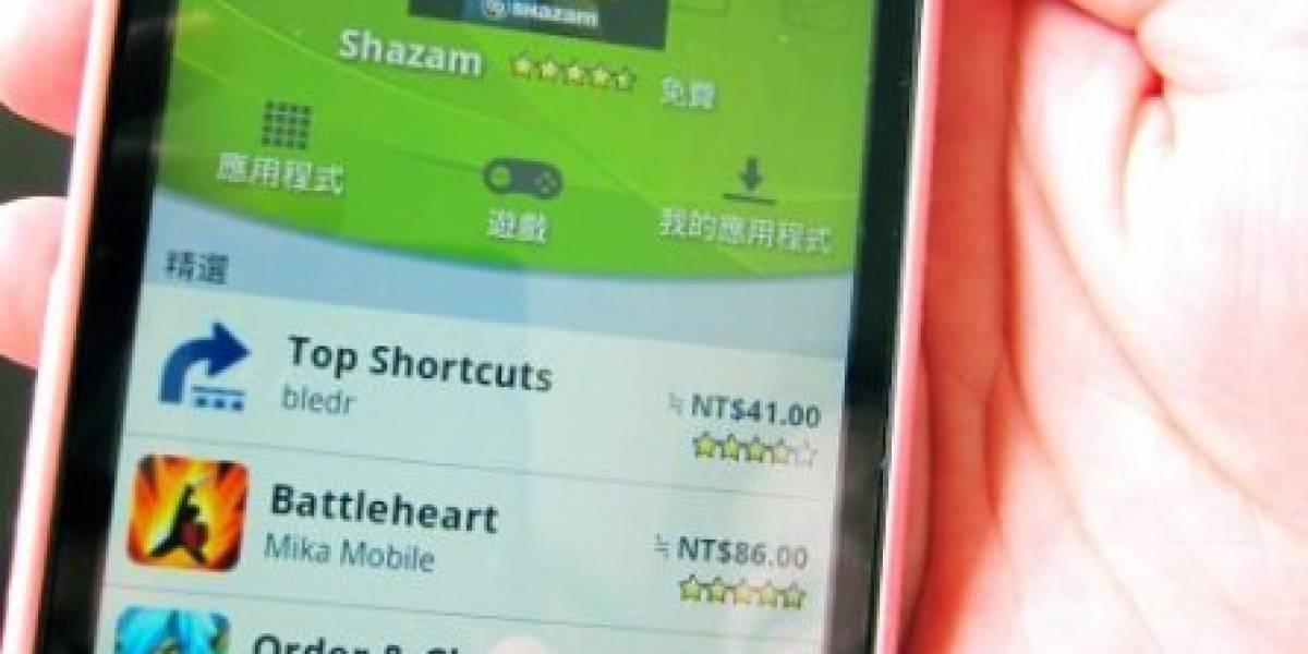 Taiwan multa a Google por pruebas de aplicaciones Android