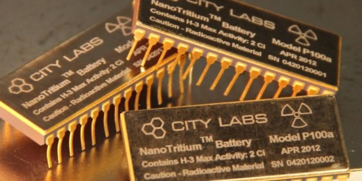 Ya se pueden comprar baterías betavoltaicas con carga para 20 años