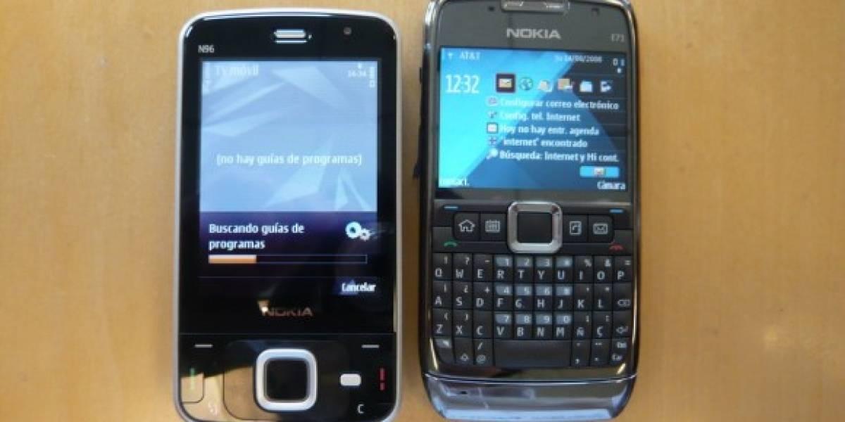 W Labs: Manoseando el Nokia E71 blanco y el Nokia N96