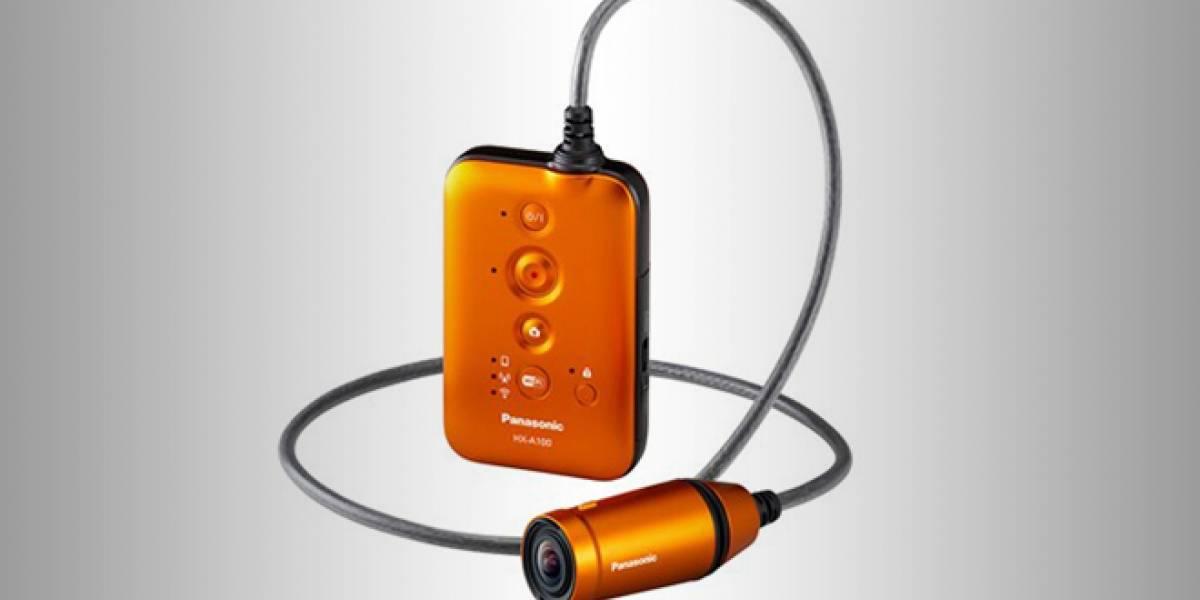 Panasonic lanza nueva cámara en miniatura para los amantes de la aventura