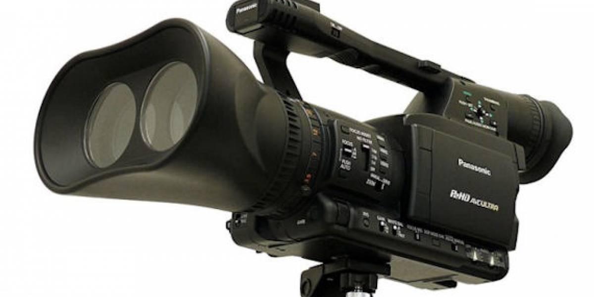 Panasonic desarrollará cámaras tridimensionales de alta definición
