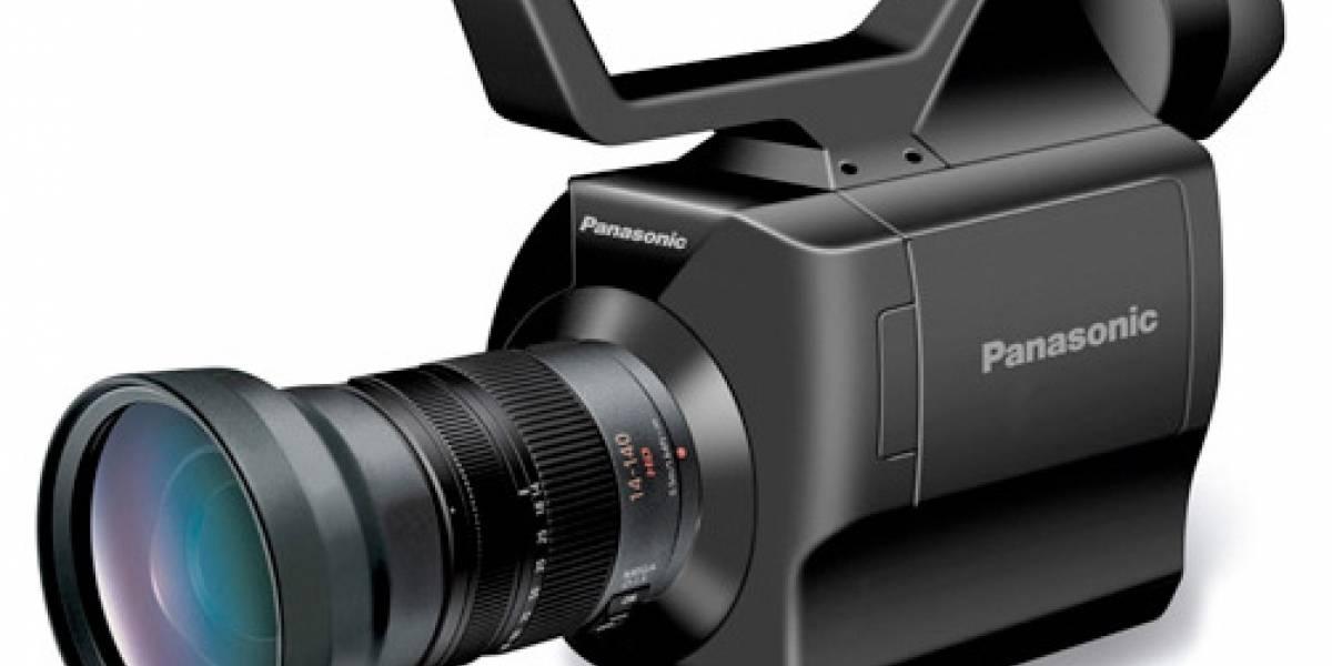 Panasonic AG-AF100: La primera videocámara AVCHD con el formato Micro 4/3