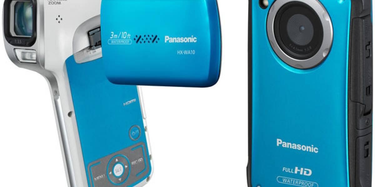 Panasonic presenta dos nuevas videocámaras compactas a prueba de agua y golpes