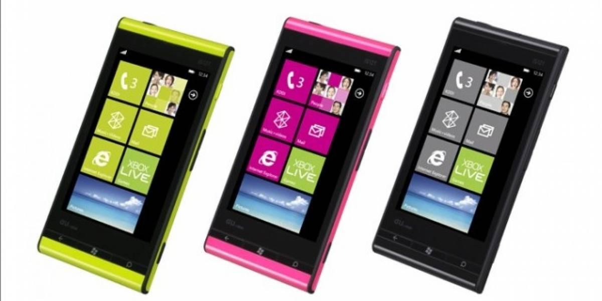 Toshiba-Fujitsu IS12T: El primer móvil con Windows Phone Mango