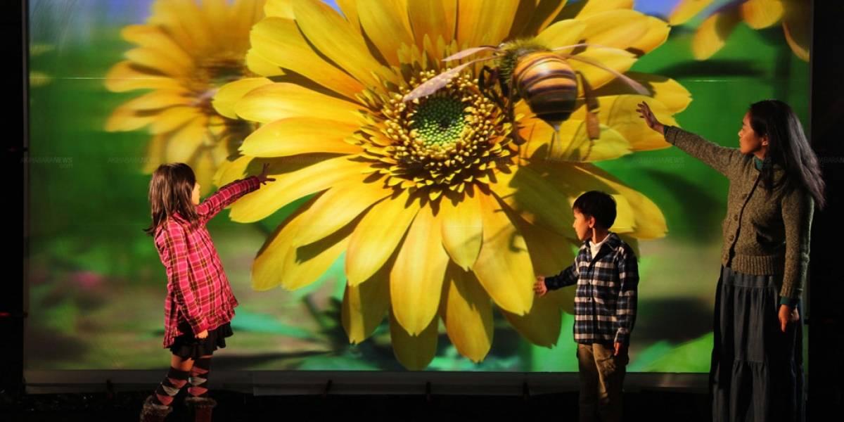 Instituto japonés desarrolla pantalla 3D de 200 pulgadas que no requiere lentes