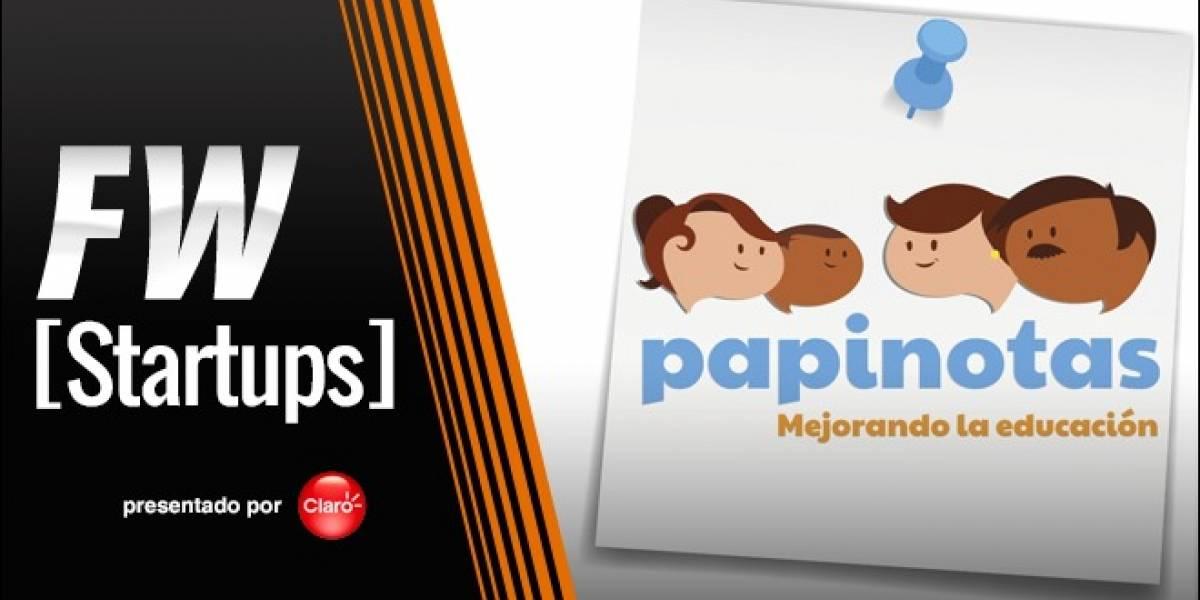 Papinotas busca involucrar a los padres en el proceso educativo a través de SMS [FW Startups]