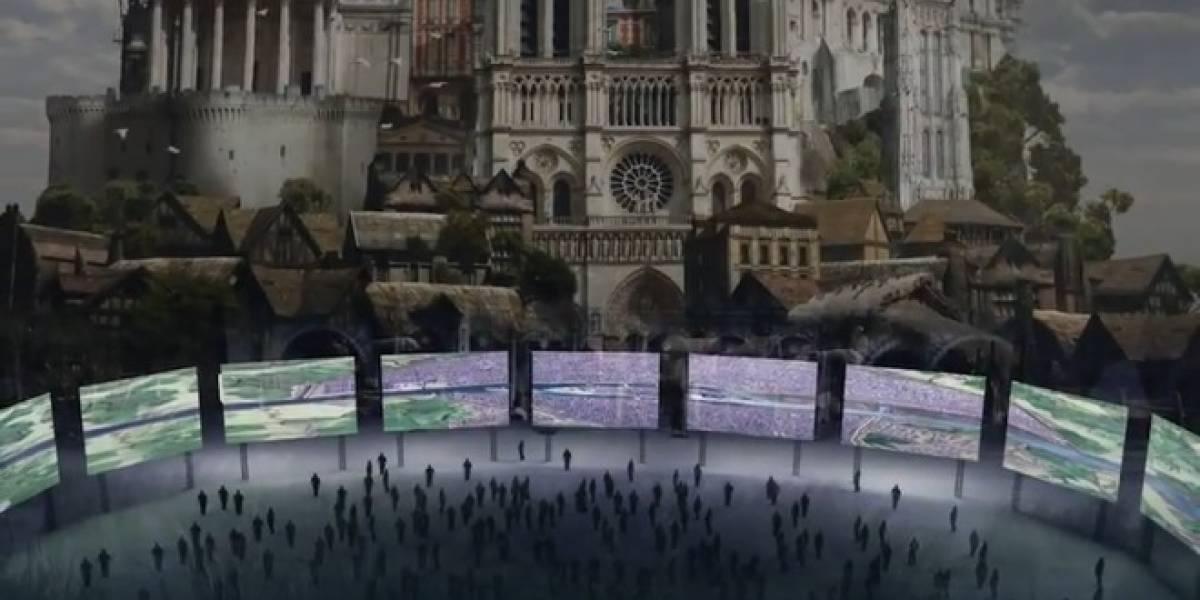 Paris tendrá su primera experiencia 3D en una presentación de 180 grados