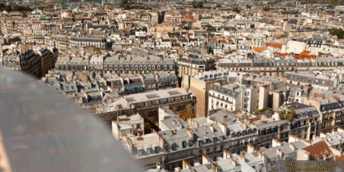 Fotógrafos crearon imagen de 26 gigapixeles de París