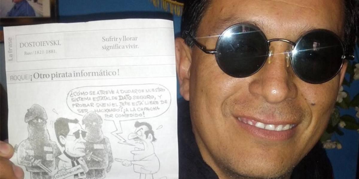 """Liberan a bloguero ecuatoriano acusado de """"hackear"""" al presidente Correa"""