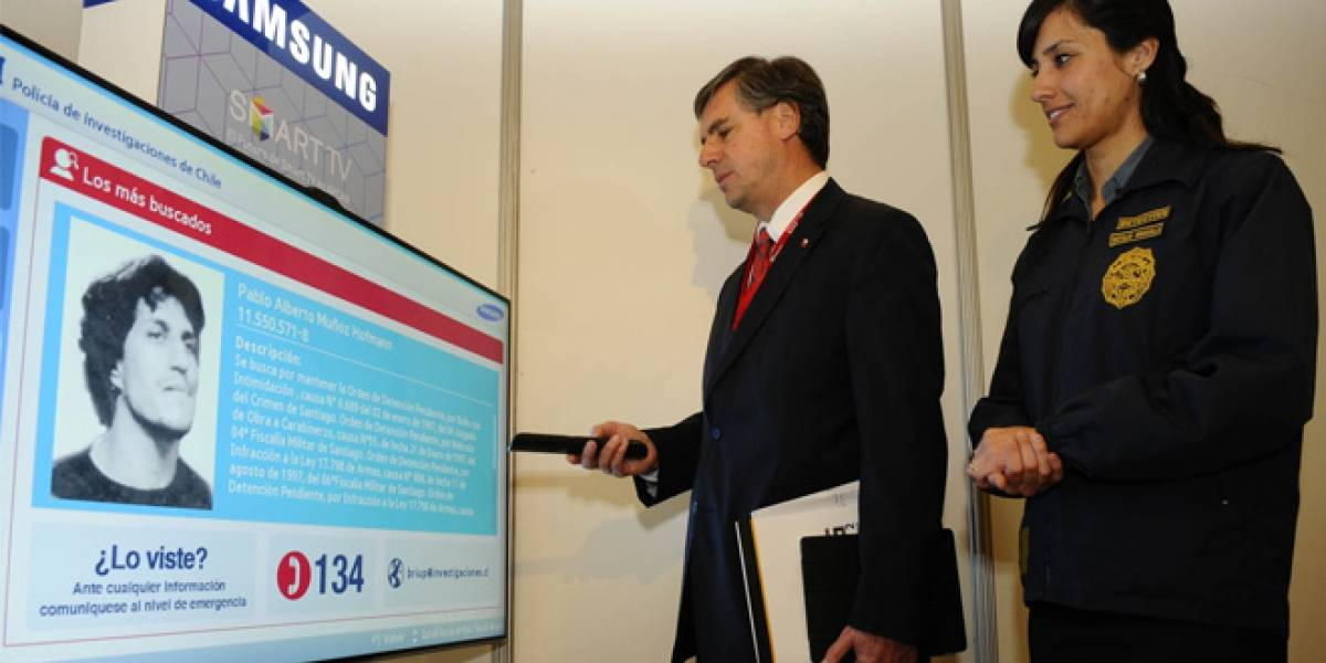 Chile: PDI lanza aplicación para Smart TV