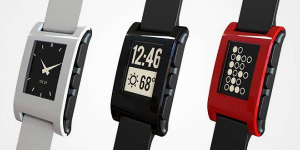 Reloj inteligente Pebble hará su lanzamiento oficial en CES 2013