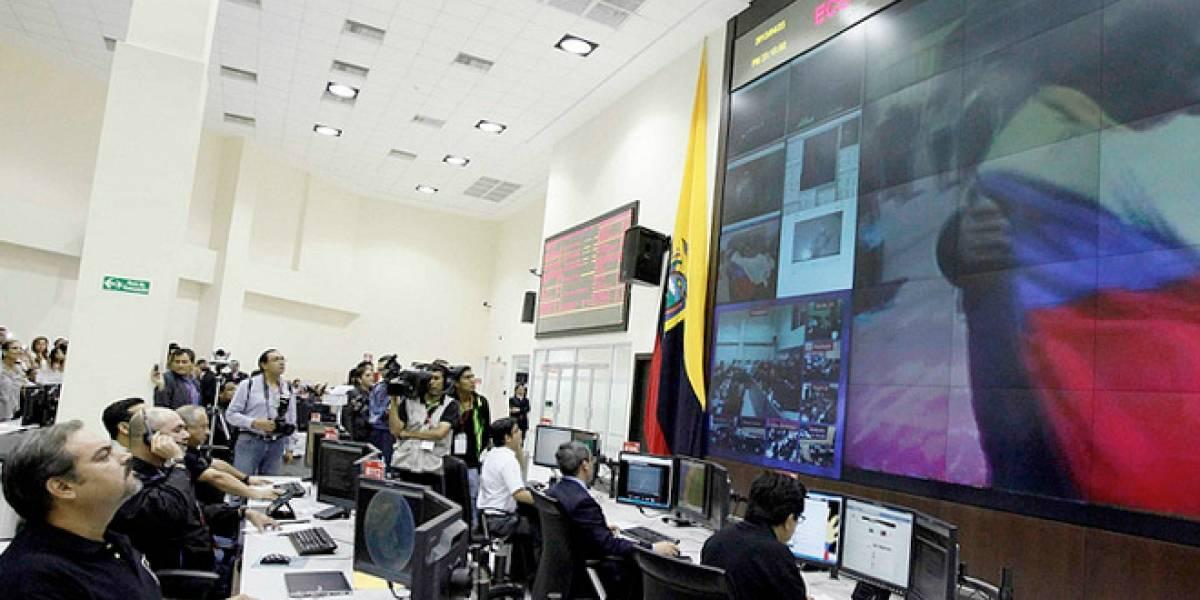 "Ecuador pone su primer satélite ""Pegaso"" en la órbita"
