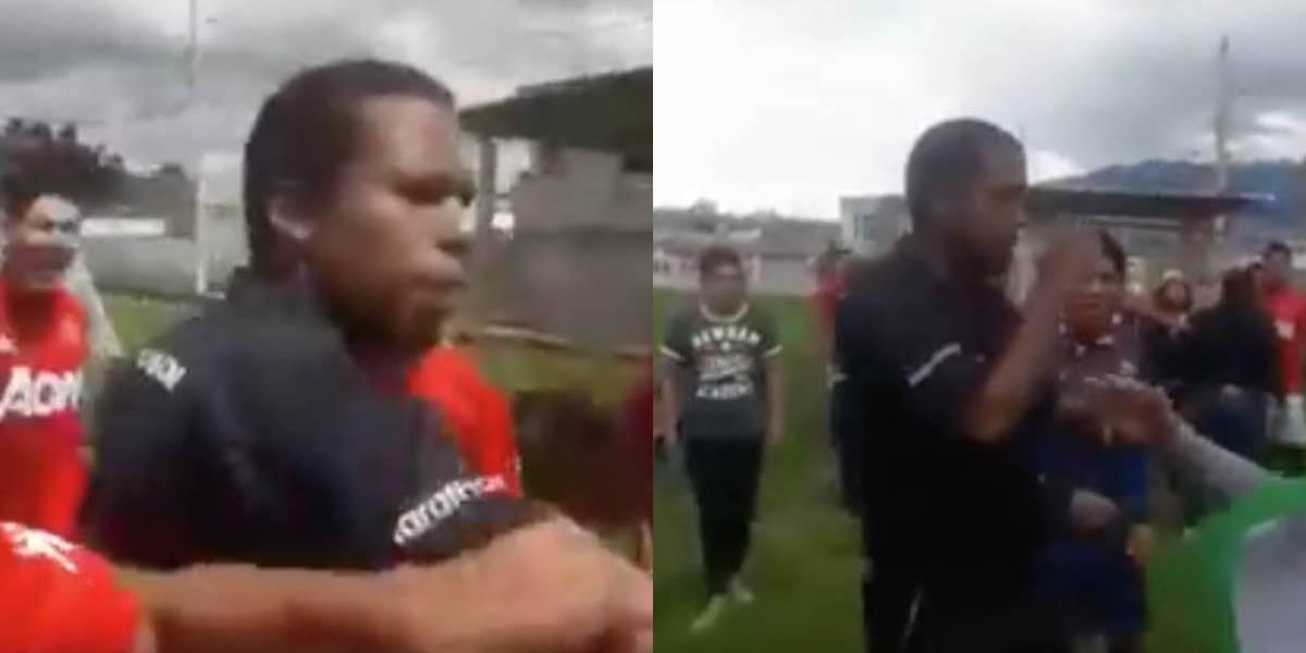 Video de pelea barrial entre árbitro y futbolistas se vuelve viral