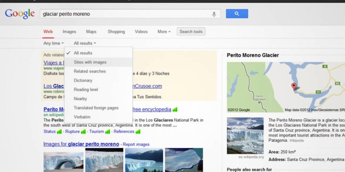 Google hace oficial su nuevo diseño de resultados de búsqueda