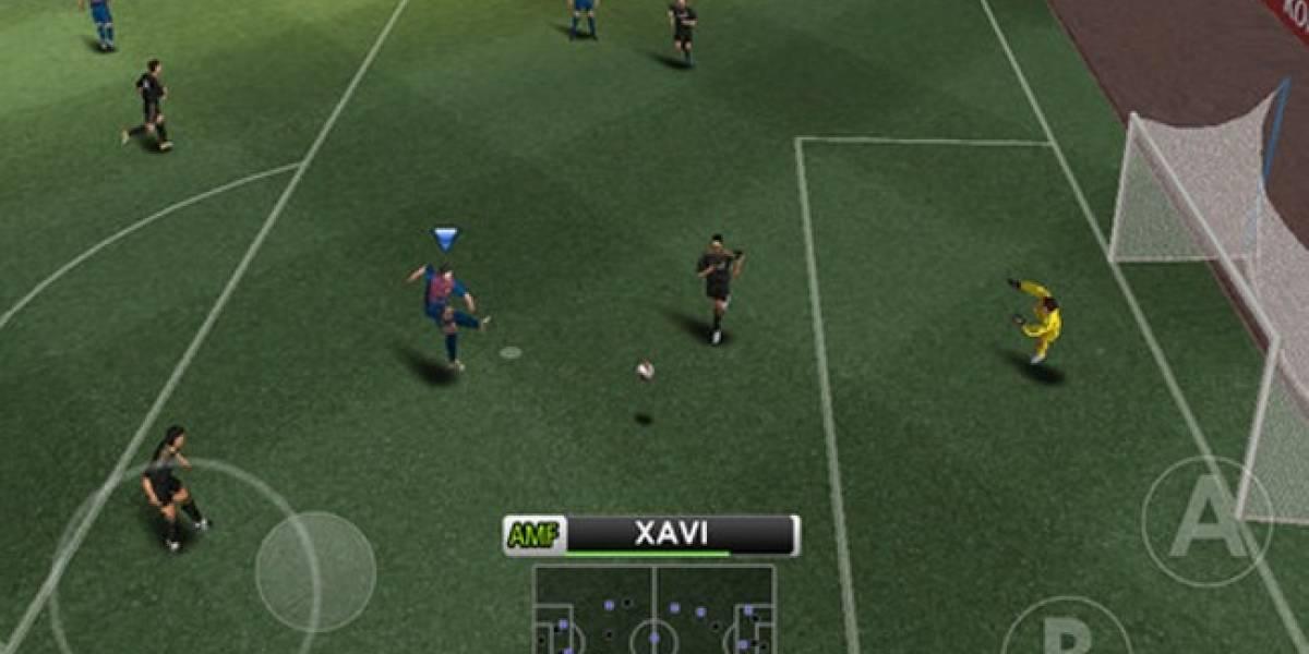 Pro Evolution Soccer 2012 gratis para iOS