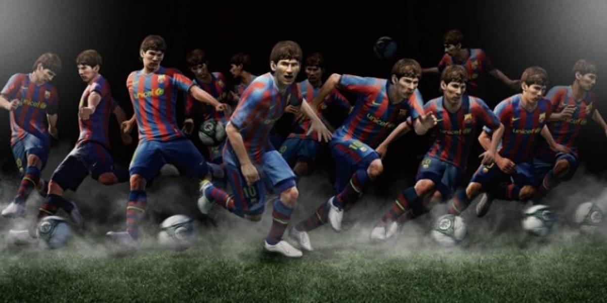PES 2011 recibirá DLC a mediados de Marzo