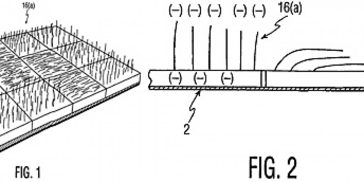 Philips patenta pantallas peludas (para poder pasar por París)