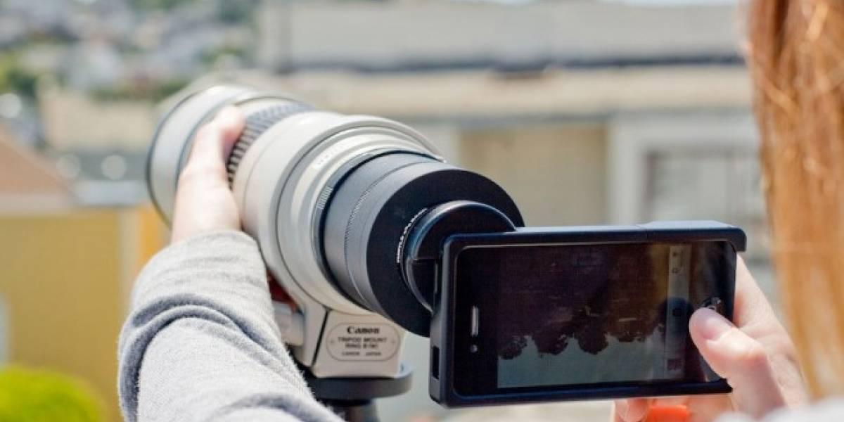 Convierte tu iPhone en una cámara reflex digital con esta carcasa Photojojo