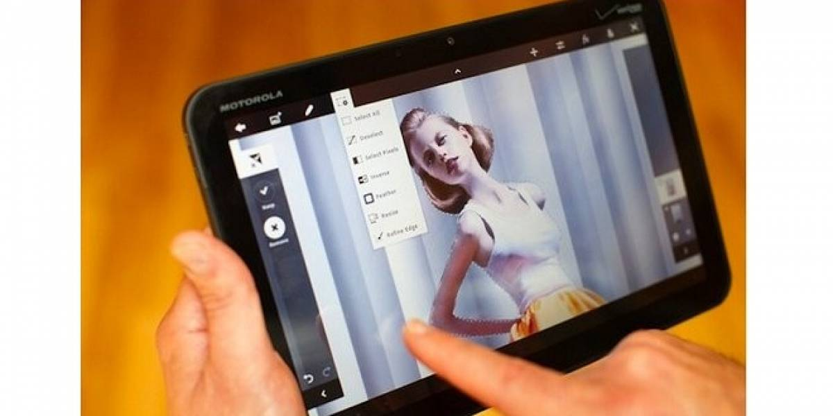 Adobe Photoshop Touch estaría llegando a tablets con Android en Noviembre