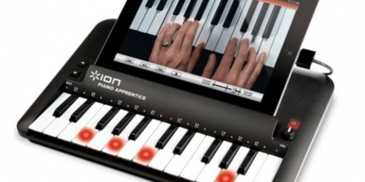 Aprende a tocar el piano con este teclado para dispositivos iOS