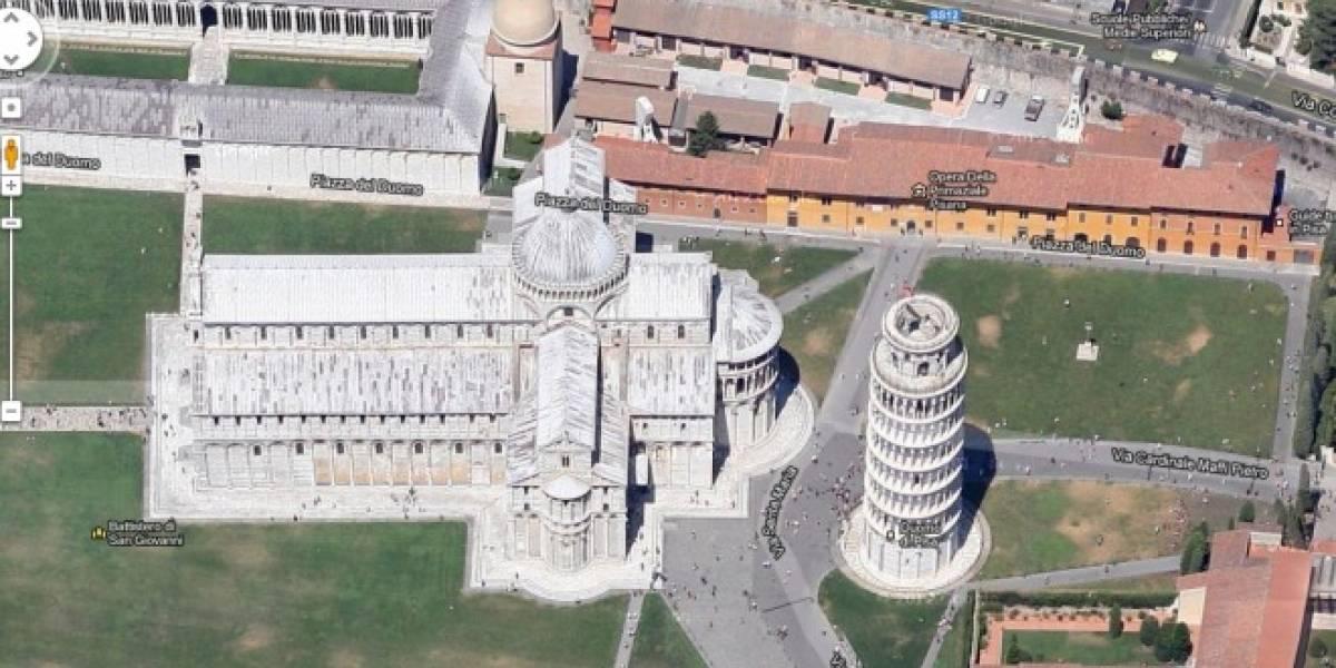 Google Maps agrega imágenes en alta resolución y a 45 grados