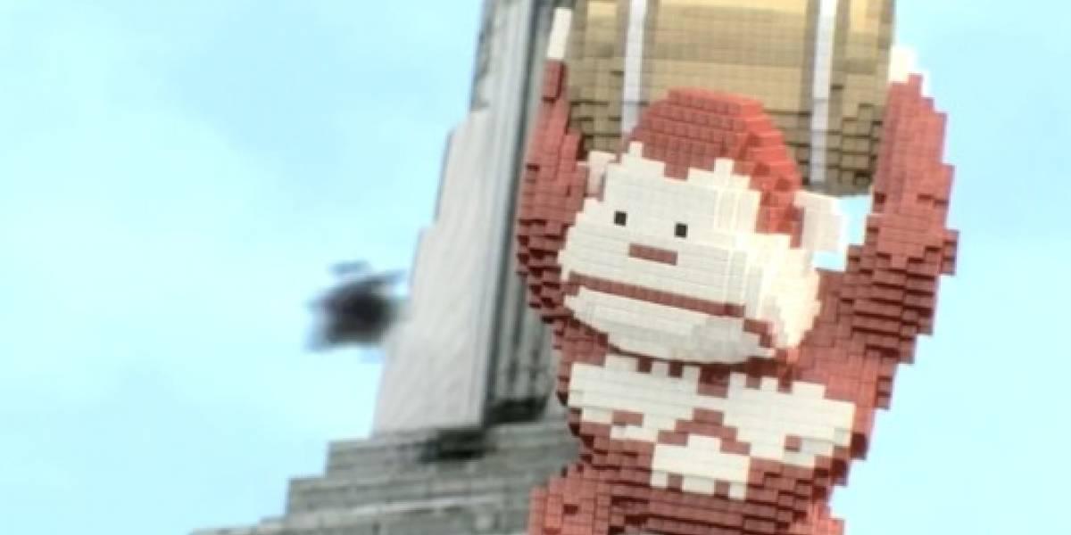 Invasión de pixeles destruye Nueva York