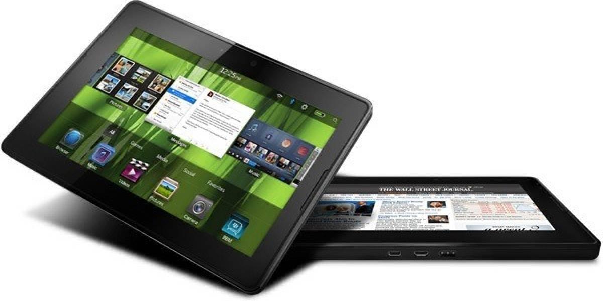 RIM prepara una gran actualización del Sistema Operativo de su tablet PlayBook