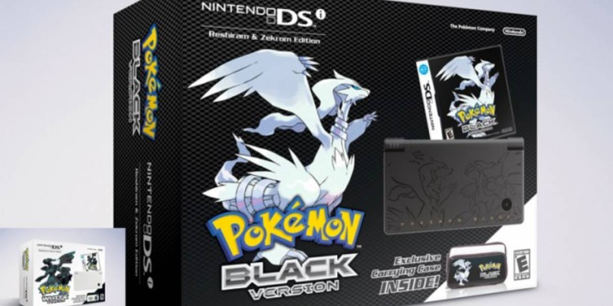 Nintendo confirma los bundles de Pokémon Black and White para Norteamérica