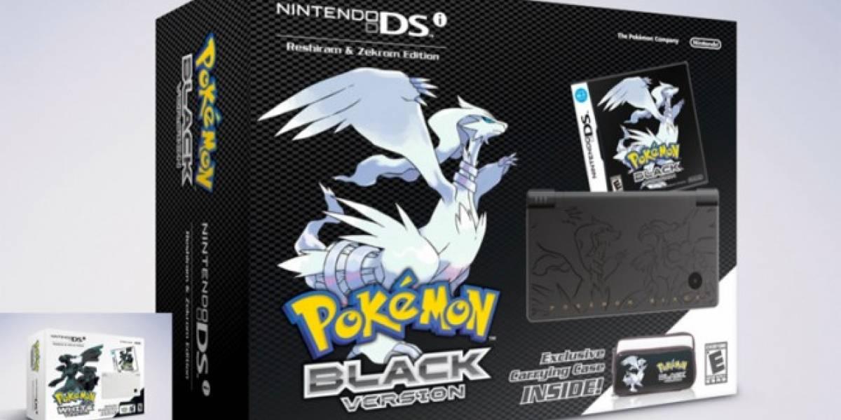 Nintendo confirma los bundles de Pokémon Black and White para Norteamérica