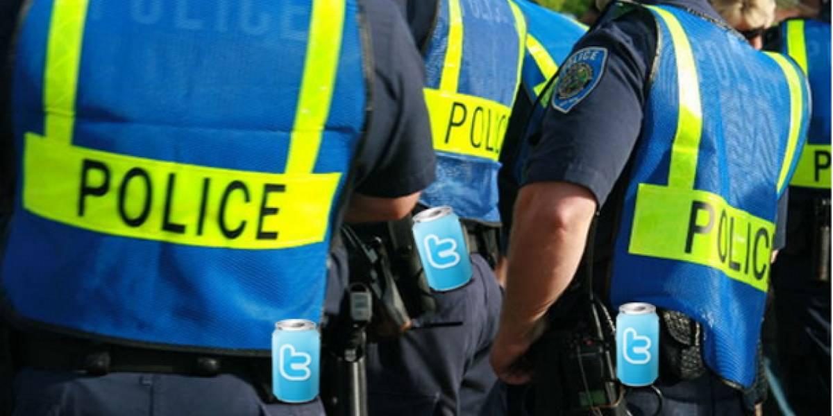 Policía británica usará Twitter para vigilar protestas