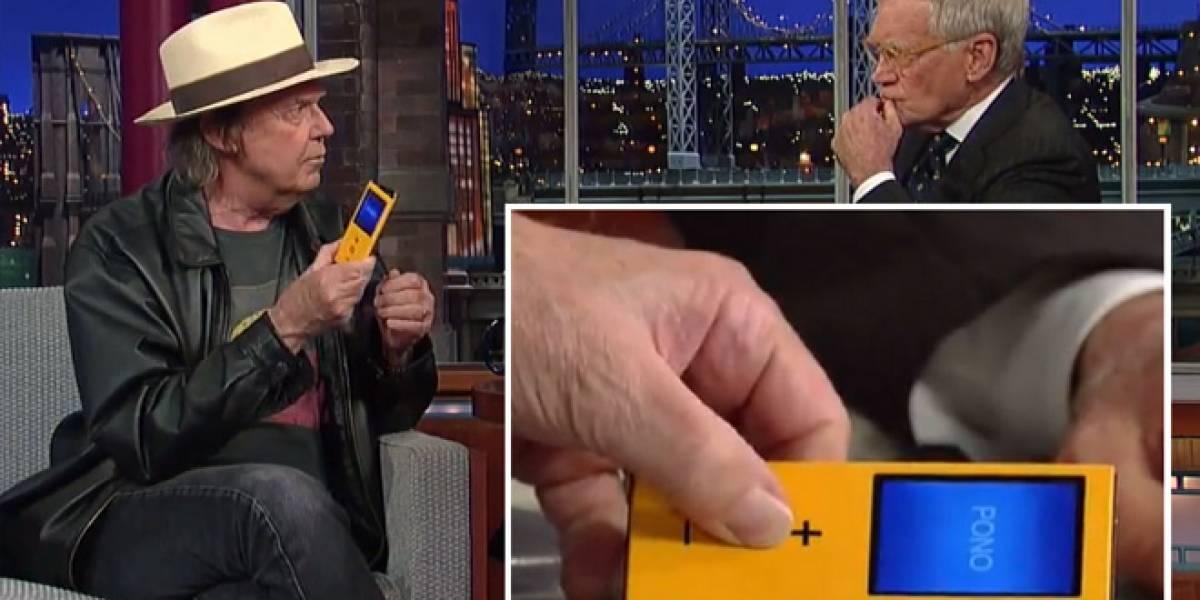Neil Young revela Pono, el reproductor que busca destronar al iPod