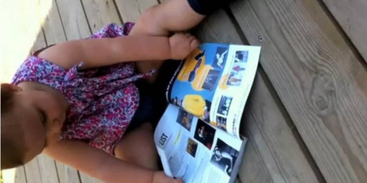 ¡No puede ser!: Esto sucede cuando tu hijo crece cerca de un iPad
