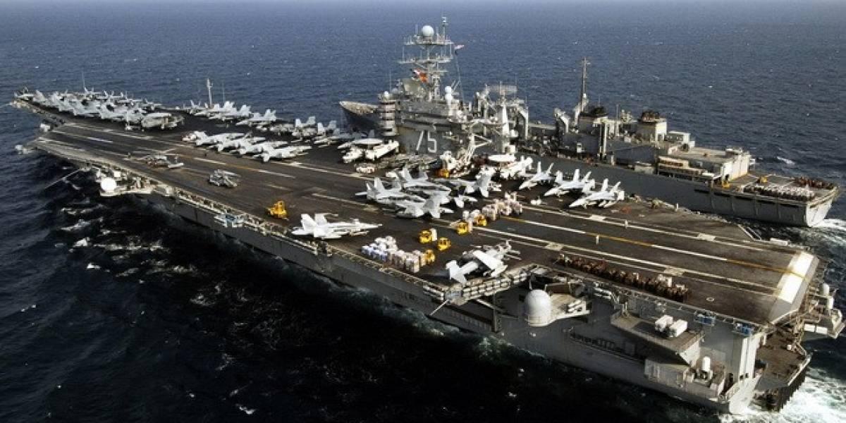 Marina de los Estados Unidos utiliza agua de mar para crear combustible para jets