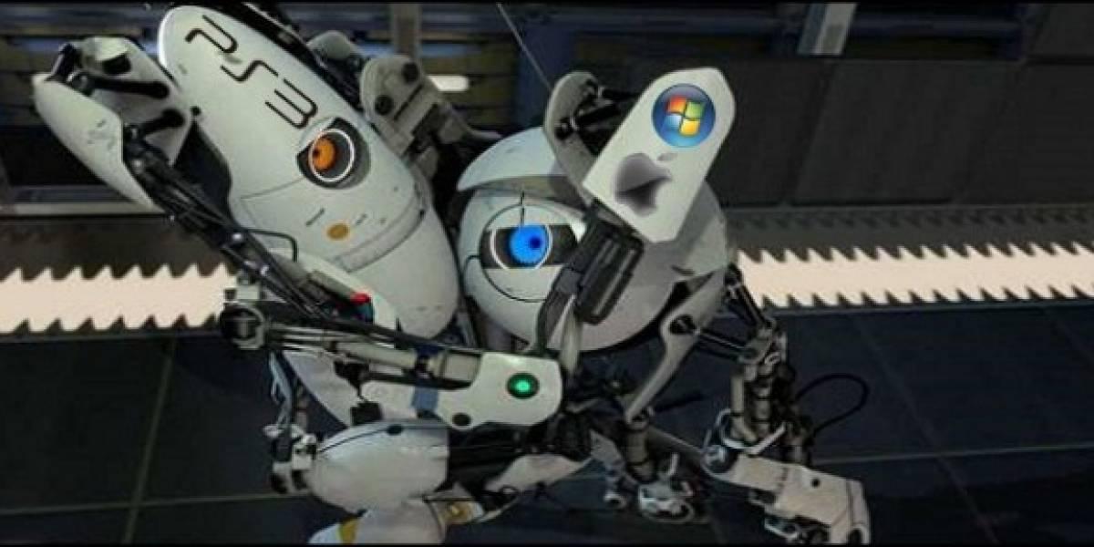 Futurología: Portal 2 tendrá cooperativo entre PS3 y PC