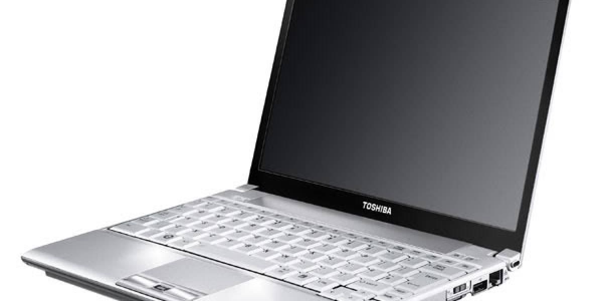 Toshiba y su nuevo portátil ultraligero