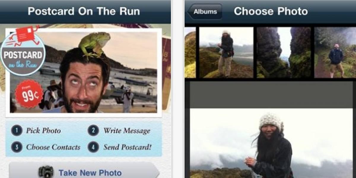 Convierte fotos del iPhone en postales de verdad