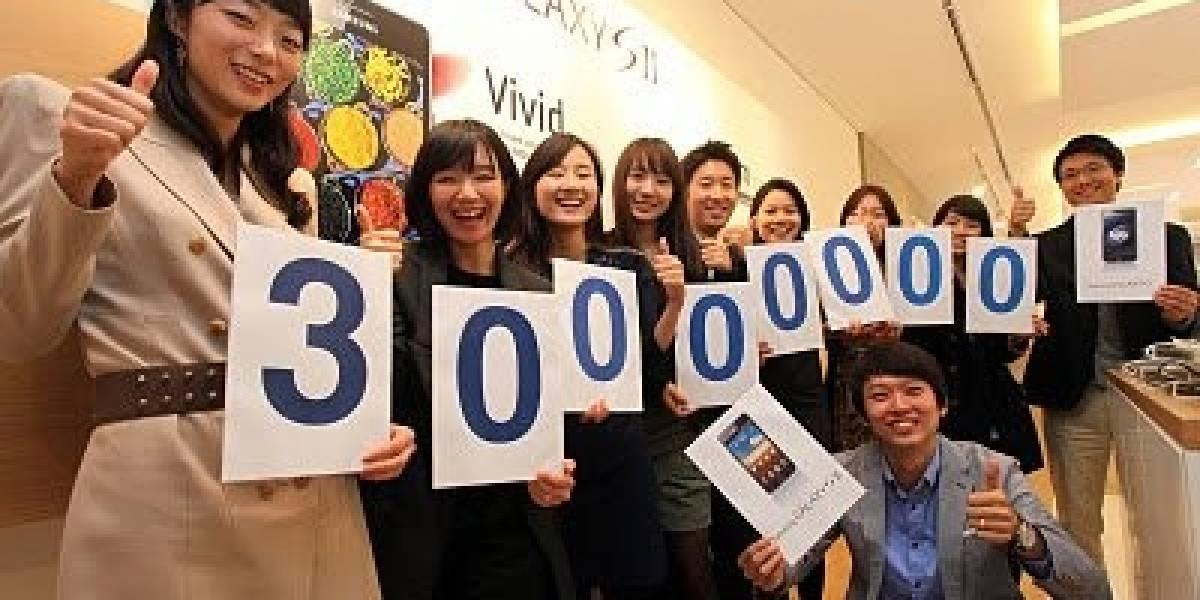 Samsung anuncia que se han vendido 30 millones de Galaxy S y Galaxy S II