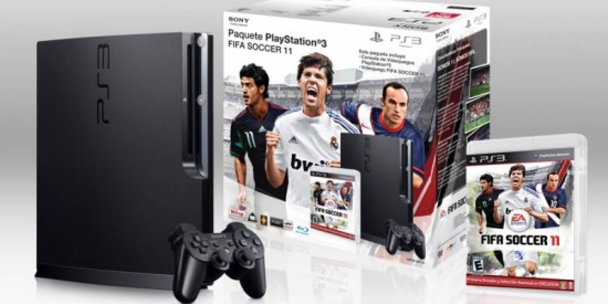Ya están disponibles los paquetes de PlayStation y FIFA 2011