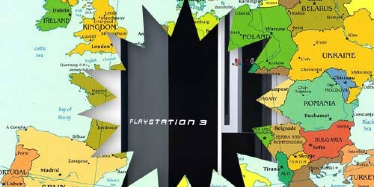 Europa también juega: PS3 de 40GB para ellos