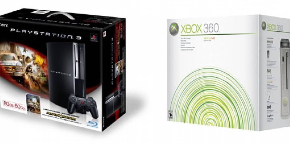 PlayStation 3 baja de precio y extienden garantía de Xbox 360