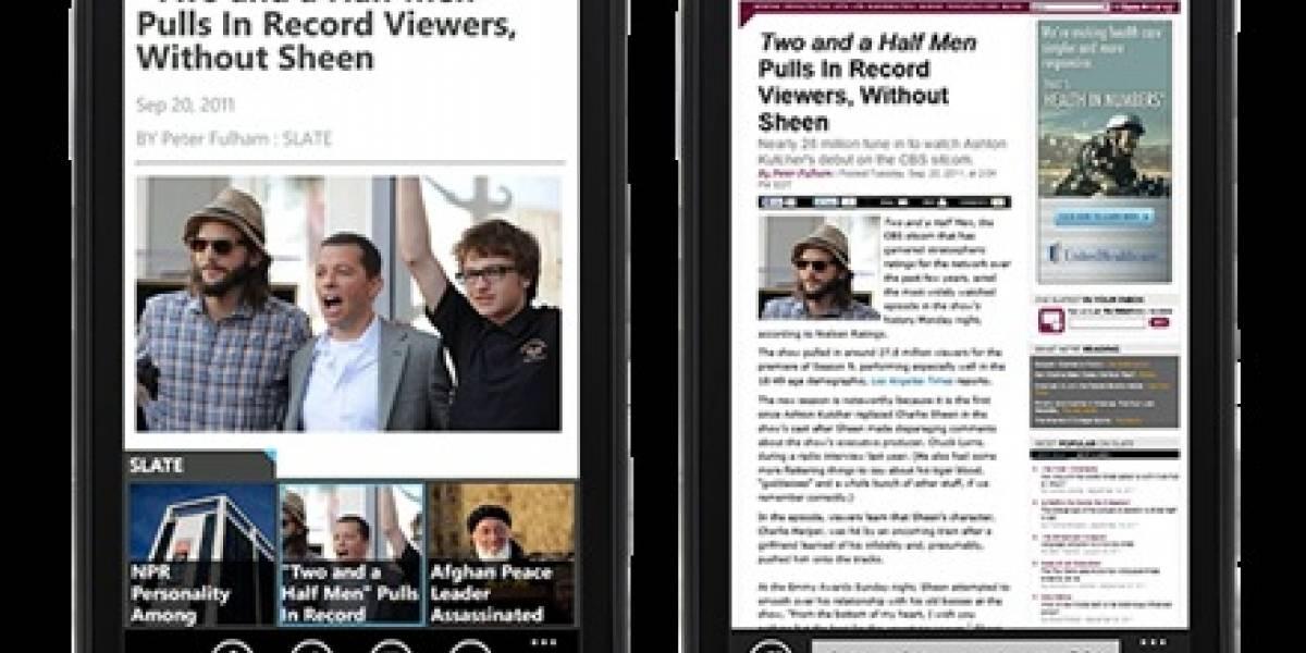 Pulse hace su ingreso triunfal a tu equipo con Windows Phone 7
