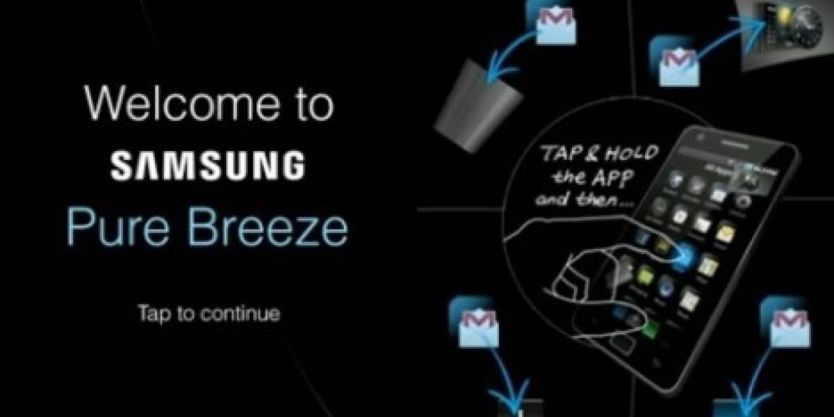 Pure Breeze, la nueva interfaz de usuario para Android creada por Samsung