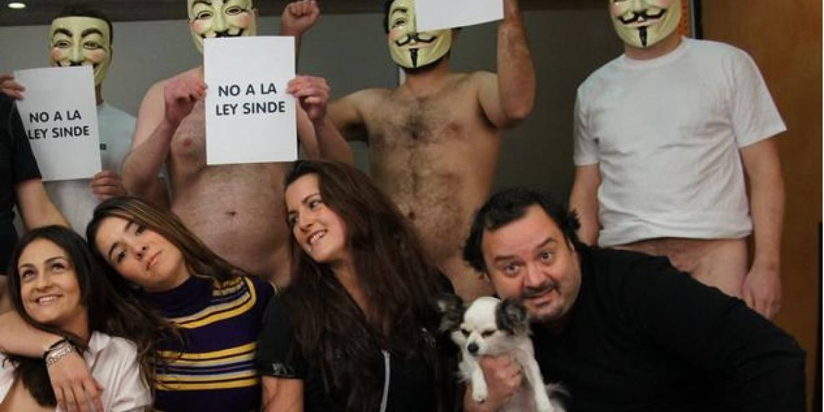 España: Director porno protesta contra la 'ley Sinde'