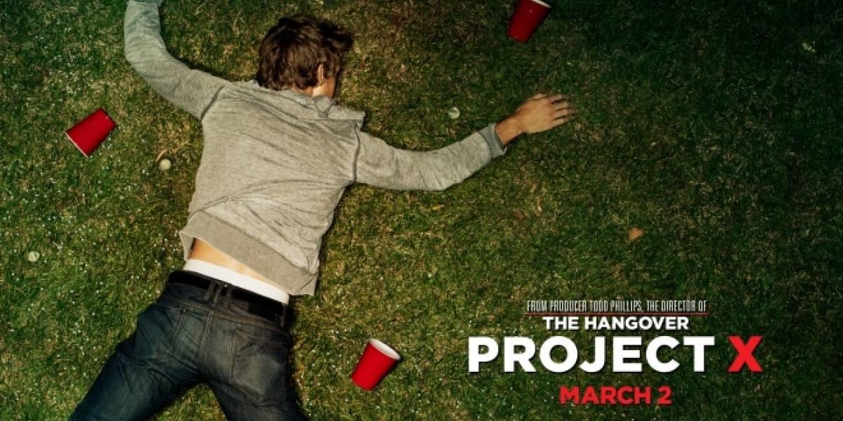 Project X fue la película más descargada del 2012