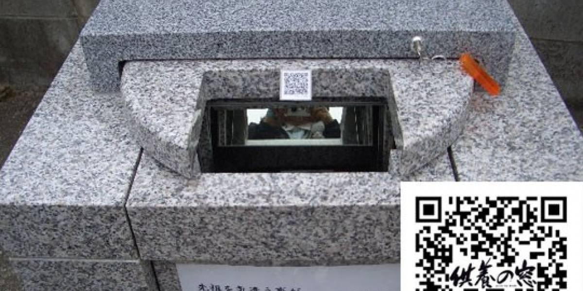 Códigos QR en lápidas de cementerios