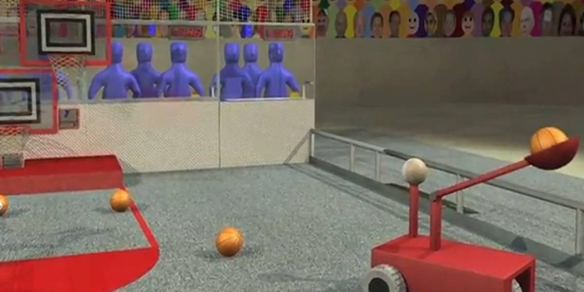 Kinect será utilizado para controlar robots en competencia