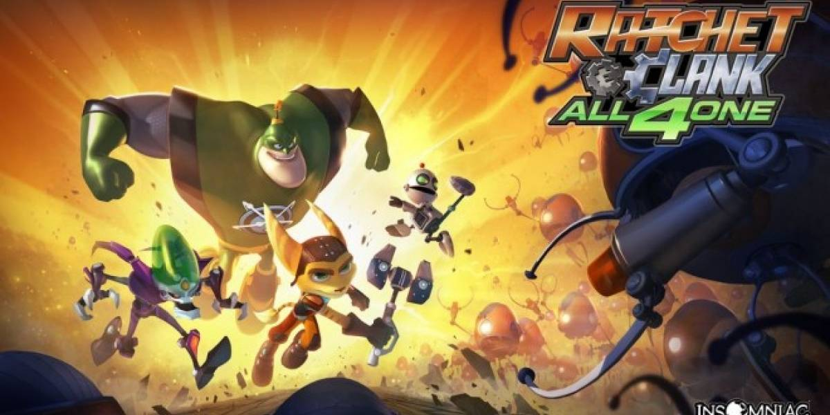 Nuevo trailer con la historia de Ratchet and Clank: All 4 One