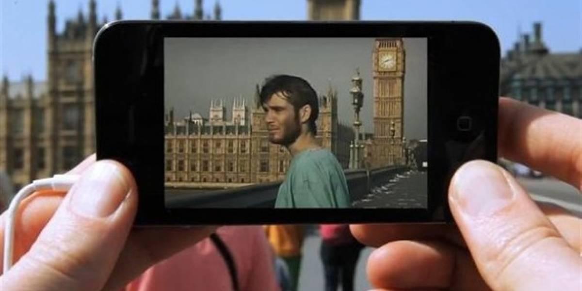 Realidad aumentada de película para iPhone
