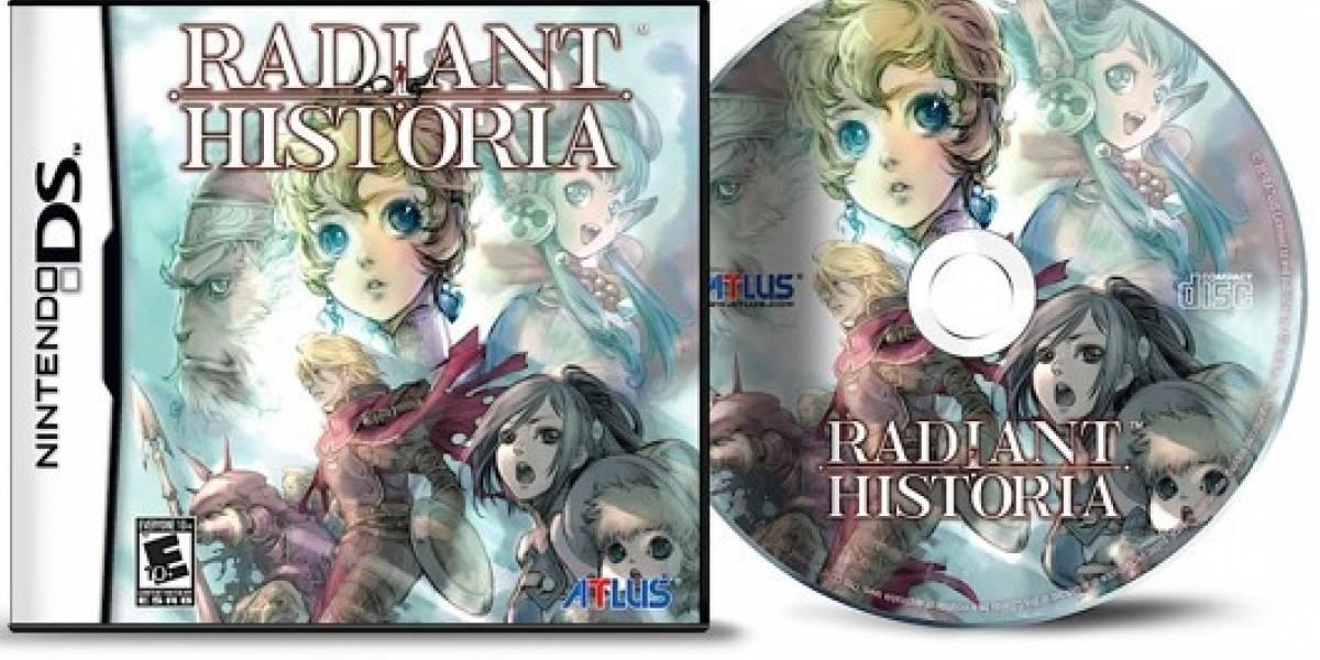 Radiant Historia llegará al Nintendo DS en Febrero