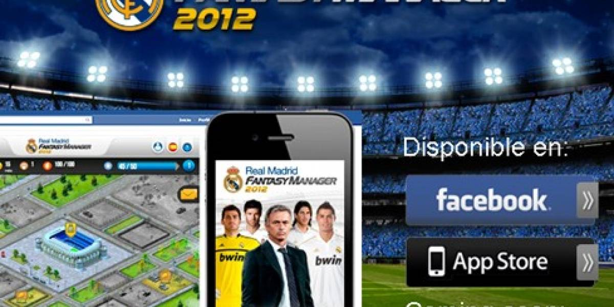 Dirige al Real Madrid desde tu iPhone (y pronto desde tu Android)